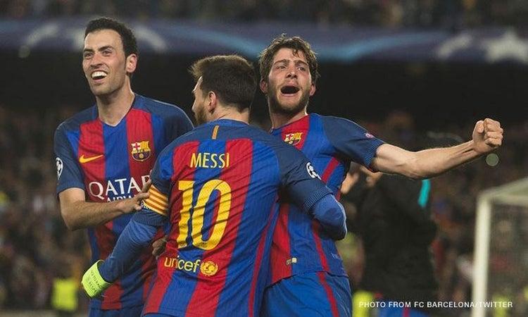 Champions League 2017: Barcelona routs Paris Saint-Germain ...