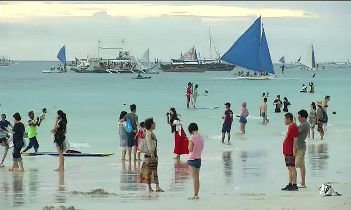 DENR temporarily suspends dragon boat races in Boracay
