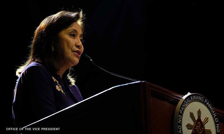 Robredo highlights Marcos regime woes on Ninoy Aquino Day