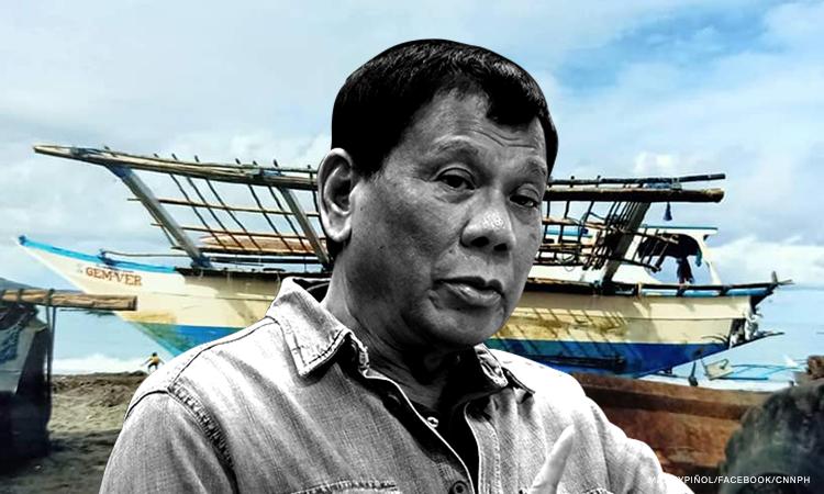 'Duterte should demand compensation over Recto Bank incident'