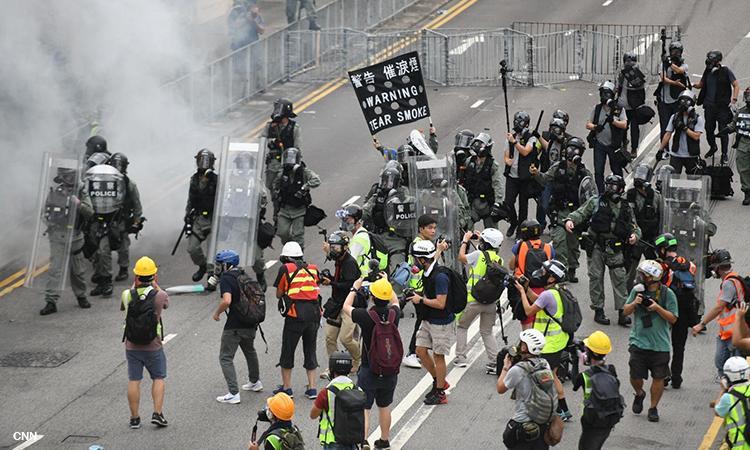 DFA to Filipino travelers: Avoid going to Hong Kong protests