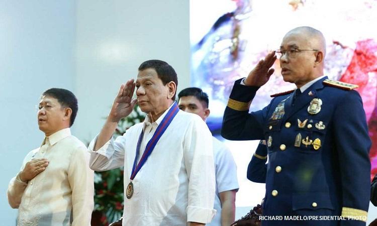 Duterte exercises caution in next PNP Chief pick