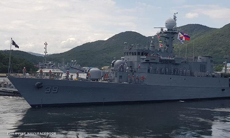 PH Navy receives warship donated by South Korea
