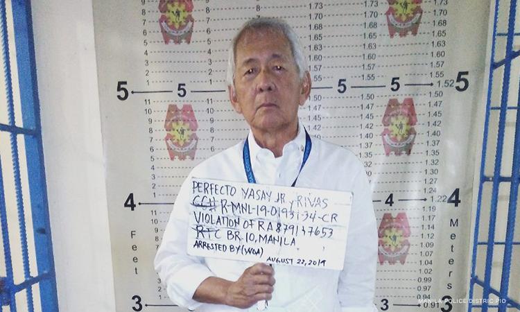 Ex-DFA chief Yasay posts bail