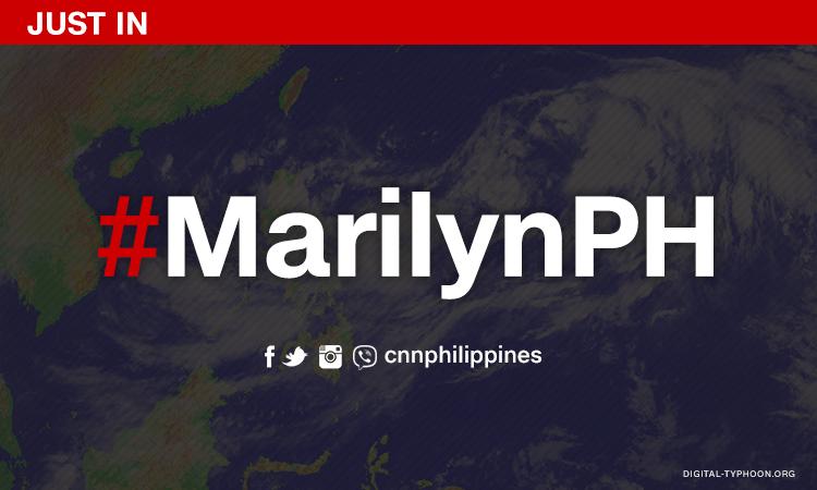 Tropical Depression 'Marilyn' enters PH