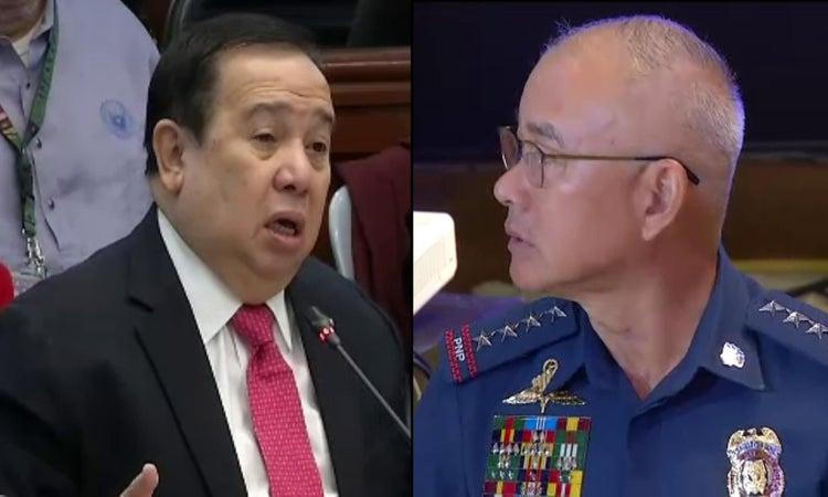 Gordon recommends graft, drug charges vs. Albayalde, 'ninja cops'