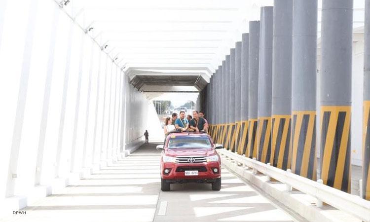 ₱245-M Lucena underpass opens