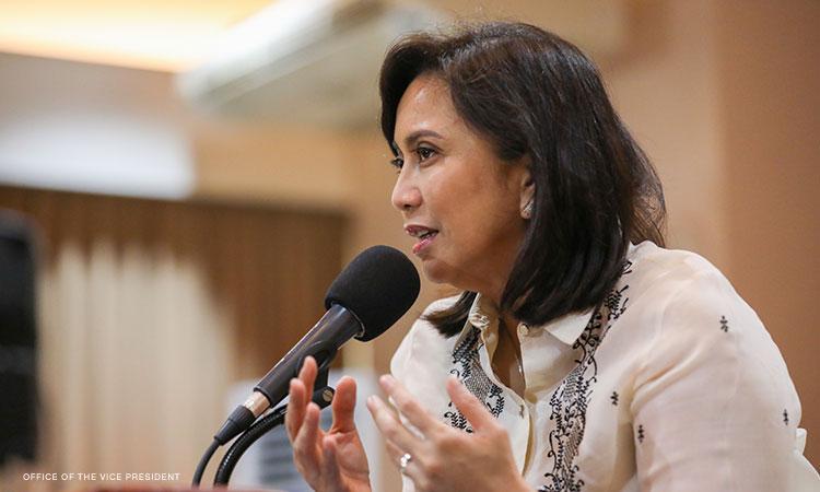 Robredo urges govt to launch free testing sites