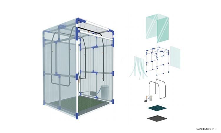 Volunteers Design Cheap Easy To Build Sanitation Tents Vs Covid 19