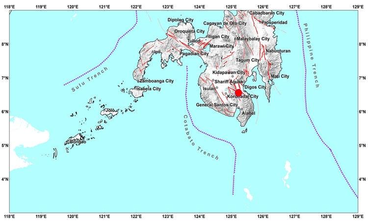 Magnitude 5.2 earthquake jolts Davao del Sur - CNN Philippines