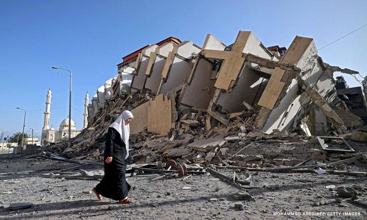 Gaza destruction by Israel