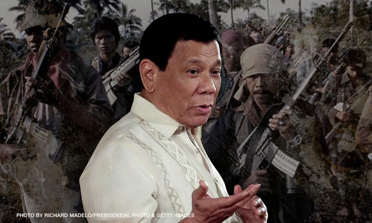 Duterte renews offer to Reds: You want talks? Declare 'immediate ceasefire'