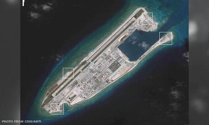 Two U.S. warships in South China Sea amid China-Malaysia standoff