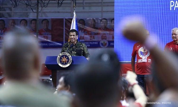 Will Duterte endorsement score a win in May 13 polls?