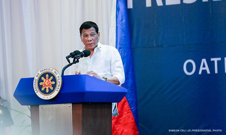 The rich dominate party-lists, Duterte laments