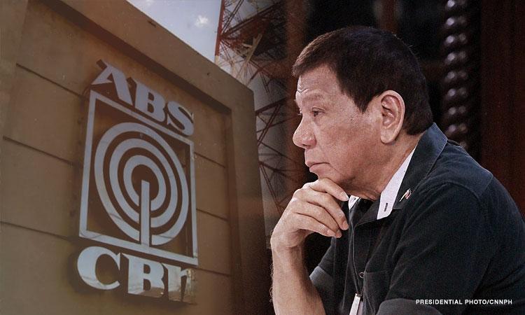 Duterte ABS CBN CNNPH.'